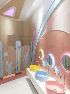 Design # bathrooms in pastel colors for girls Wonderful Teen Bedroom . - Design in pastel colors for girls Wonderful Teen Bedrooms for girls pastel bathroom colors Design - Kindergarten Interior, Kindergarten Design, Bathroom Kids, Bathroom Colors, Couples Bathroom, Pastel Bathroom, Boho Bathroom, Trendy Bedroom, Kids Bedroom