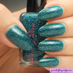 Swatch: Darling Diva Ajaxed - Painted Fingertips