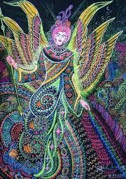 ayahuasca visionary art - Google Search