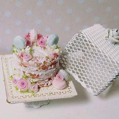 2017, Miniature Cake♡ ♡ By Mi Mundo en Rosa