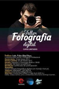 TALLER: FOTOGRAFÍA DIGITAL INTEGRAL PARA TODOS
