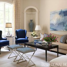 <p>A family home gets an update from color maven Tobi Fairley</p>