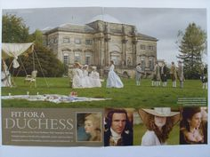 'The Duchess' National Trust Magazine article Andy Shaw  www.saatchiart.com/andyshawart www.etsy.com/shop/AndyShawArt