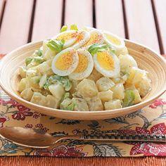 Potato Salad ~ Quick, healthy and diabetic friendly.