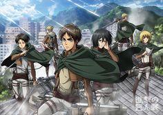 L'attacco dei giganti || Erwin Smith || Levi || Eren || Mikasa || Armin || Annie || #snk #aot