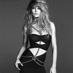 FASHION COPIOUS: Anna Luisa Ewers for Versace Woman SS 2014 Campaign by Mert & Marcus http://www.fashion.net/today/