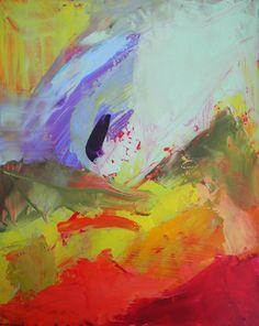 "Saatchi Online Artist: rebecca klementovich; Oil, 2011, Painting ""Luminous conversations"""