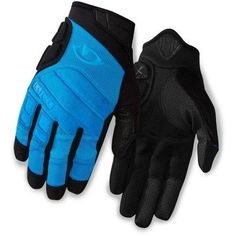 Giro Men's Xen Bike Gloves Blue Jewel/Black XL