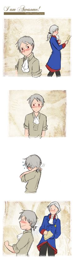 Teen Prussia Diaries -001- by Arkham-Insanity.deviantart.com on @DeviantArt