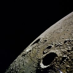 The Copernicus crater on the Moon, photographed from lunar orbit during the Apollo 12 mission, November 1969. (NASA)