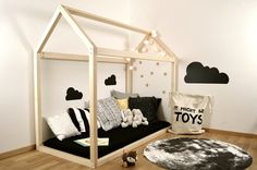 Детские кровати в виде домика | Фотографии красивых интерьеров