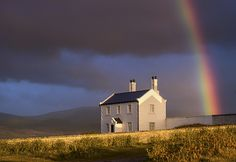 'Gold At The Rainbow's End' - Black Point, Anglesey by Kristofer Williams
