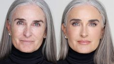 Watch This Transformation: Mesmerizing Viral Make-up Video - Better After 50 Source by swtutmom face Skin Makeup, Beauty Makeup, Hair Beauty, Beauty Skin, 50s Makeup, Hair And Makeup Tips, Dress Makeup, Makeup Case, Beauty Care