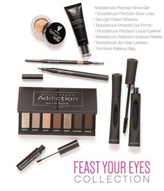 Feast your eyes collection by Younique! Available March 1st!!! Yay can't wait.