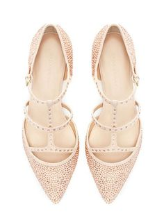 12 fabulous flat shoes to party the night away in: We'd feel just peachy with these twinkling treats on our tootsies. Who says you need heels to look good?