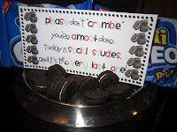 testing encouragement.  Cute!