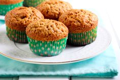 Happy National Oatmeal Muffin Day! Reap the benefits of oats with these healthy muffins that are perfect post-workout!