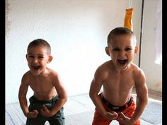 Holy smokes!!! World's strongest kids. The 90-degree vertical pushups and human flag are especially impressive.