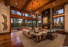 Warm modernism takes center stage in Martis Camp retreat