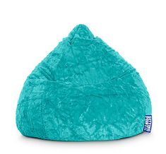 Gouchee Home Fluffy Collection Contemporary Oversized Faux Fur Upholstered Bean Bag Chair, Turquoise Bean Bag Walmart, Fluffy Bean Bag Chair, Extra Large Bean Bag, Faux Fur Bean Bag, Wrought Iron Patio Chairs, Kids Bookcase, Old Chairs, White Chairs, Cozy Place