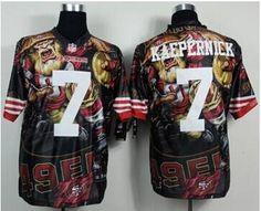 c1e5e8f09 Nike San Francisco 49ers  7 Colin Kaepernick NFL Elite 2014 New Fashion  Jersey Taco Charlton