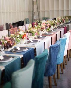 Wedding reception color idea; Photographer: Studio EMP