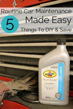 Routine Car Maintenance Made Easy 5 Things you can do to save money! #Ad #DotComDIY
