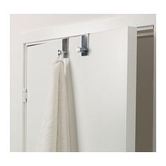 GRUNDTAL Hook for door - IKEA. Great for any room, one for every door!!!