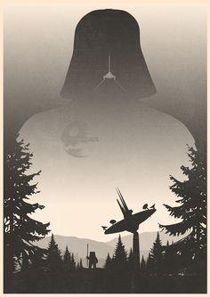 The Dark Side (Part 1) - excites | Graphic Designer | Simon C Page #starwars #darthvader