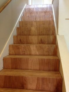Best We Bought Mdf Stairs And Plywood Treads Brady Took 8 400 x 300