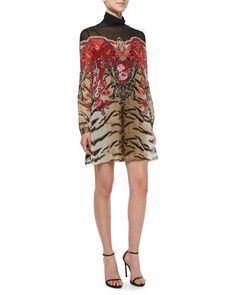 Tiger Print Dress Valentino k6bI8