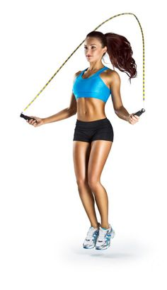 WORKING SET ACTIVE REST: Rope Jumping 3 sets of 1 min