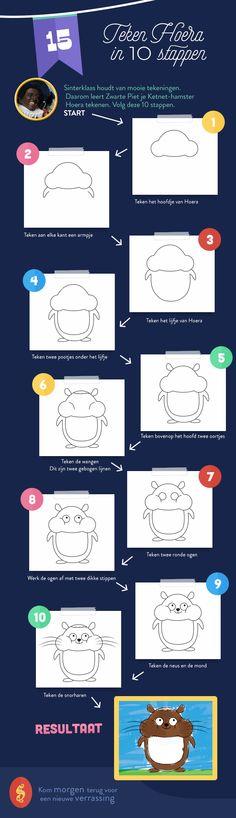 Teken Hoera in 10 stappen | Ketnet