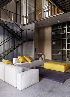 Eine komplette #Wohneinrichtung im #Industrial Style! Das hat was :)