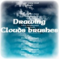 Drawing clouds Brush by zevenstorms on DeviantArt Cloud Drawing, Brush Drawing, Brush Pen, Photo Brush, Problem Set, Creeped Out, Best Brushes, Its A Wonderful Life, Photoshop Tutorial