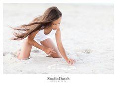 Girl Beach Editorial