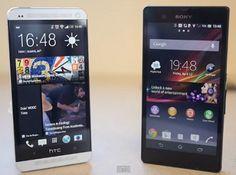 Comparación en video entre el HTC One y el Sony Xperia Z, principales características
