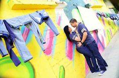 Santa Barbara, Zona Colonial en Santo Domingo. Street art photoshoot