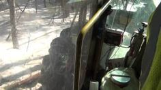 A ride along with Wade Kelly in a TigerCat skidder working with a logging crew off the St Francis Rd in the North Maine Woods 2014 Northern Maine, Ride Along, St Francis, The St, Woods, Camping, Saint Francis, Campsite, San Francisco