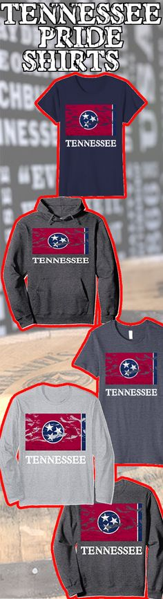 #tennessee Show off your Tennessee Pride! If you are on a vacation, live or from the great state of tennessee you need this shirt. On amazon with prime. #tennesseevalleyhomes #stateflag #flagshirts