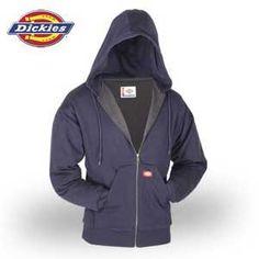 Dickies® Thermal Lined Hooded Fleece Zip Up