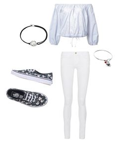 """Untitled #580"" by abby-white-2 ❤ liked on Polyvore featuring Sea, New York, Alex and Ani, Vans, Frame and Disney"