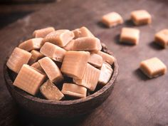Made with sugar, evaporated milk, milk, salt, butter, vanilla extract, nuts | CDKitchen.com