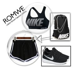 """Untitled #65"" by fashion-with-lela ❤ liked on Polyvore featuring NIKE"