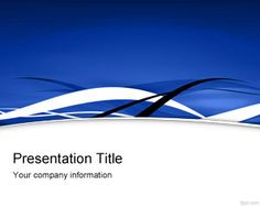Blue Fringe PowerPoint Template is a free background for PowerPoint presentations with blue style and curves that you can download for Microsoft PowerPoint 2007 and 2010 as a free blue PPT template slide design with curves