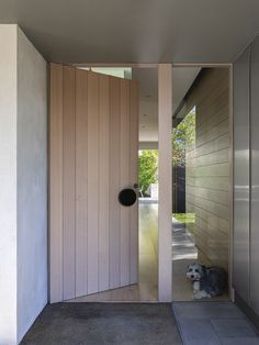 Malvern Family Home by Neil Architecture Modern Entrance Door, Modern Front Door, Front Door Entrance, House Front Door, Entrance Design, House Doors, House Entrance, Facade House, Entry Doors