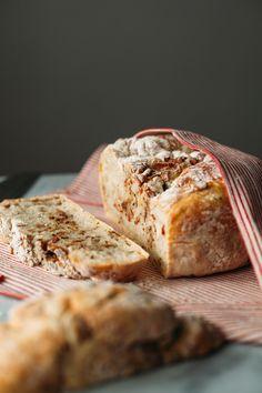 rustic bacon bread