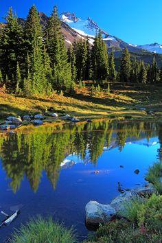 Mt. Jefferson, Jefferson Park, Willamette National Forest, Oregon; photo by Tula Top