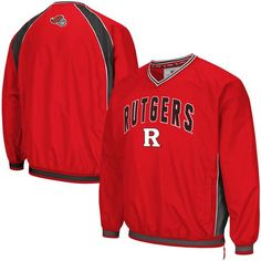 Rutgers Scarlet Knights Colosseum Fair Catch Pullover Jacket - Scarlet - $49.99