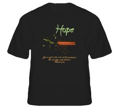 """Our recently released """"Hope"""" themed shirts are now available at www.bibleteez.com! Come take a peak for your favorite verses! Great T Shirts, Bible Verses, Sayings, Mens Tops, Lyrics, Scripture Verses, Bible Scriptures, Scriptures, Quotations"""